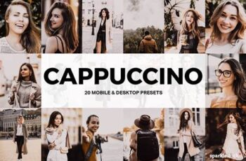20 Cappuccino Lightroom Presets and LUTs 677317