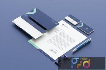 Green Branding Identity & Stationery Pack 9FKHMTQ 7