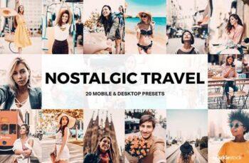 20 Nostalgic Travel Lightroom Preset 5117069 3