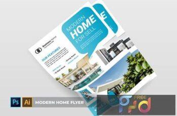 Modern Home - Flyer MGC4BSA 2