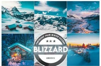Blizzard Photoshop Action 26328779 6