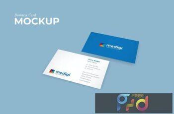 Perspective Bisiness Card Mockup - Light File Size SLYLPJY 7