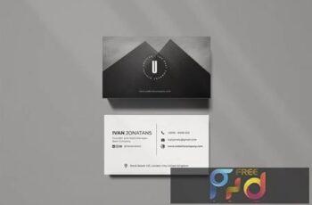 U Creative Business Card W9E2FE8 5