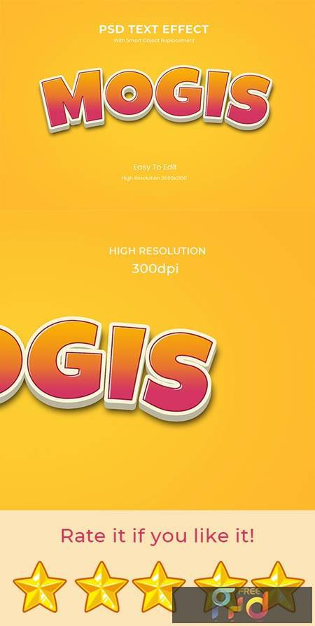 Mogis 3D Game Logo Text Effect 26999525 1