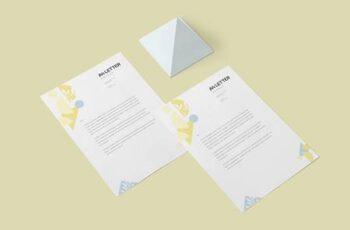 A4 Size Letter Mockups 4646671 6