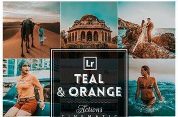 TealxOrange Photoshop Actions 26378724