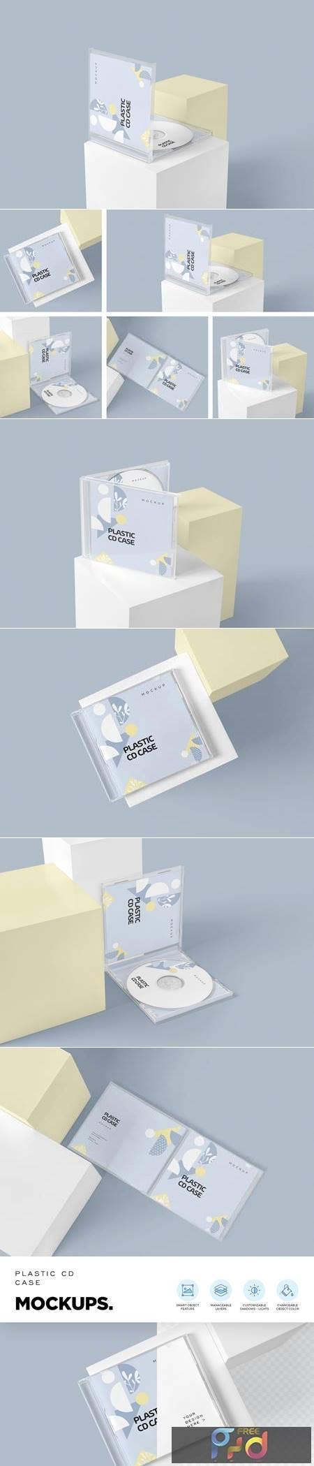 Plastic CD & Jewel Case Mockups 4646644 1