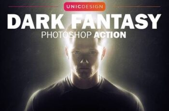 Dark Fantasy Photoshop Action 13467329 5