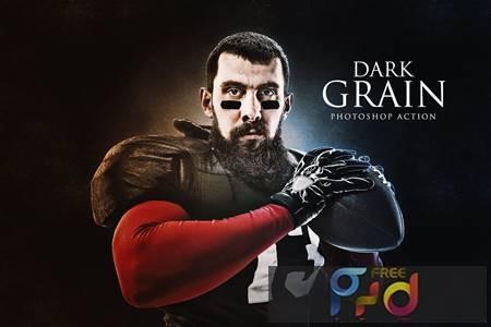 Dark Grain Photoshop Action FRGPPCJ 1