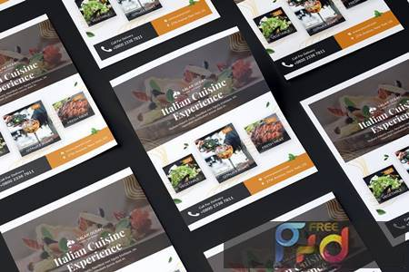 Fresh Food Flyer PSD Template BMT6YUH 1