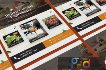 Fresh Food Poster PSD Template UQGF3WP 4