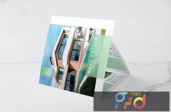 Real Estate Square Trifold Brochure A53JC5E 9