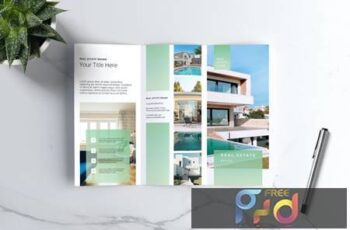 Real Estate Trifold Brochure ZXE2VJZ 3