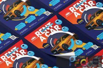 Rent a Car Flyer A3YEAH5 3