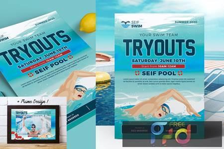 Swim Tryouts Flyer 2F6FJA8 1
