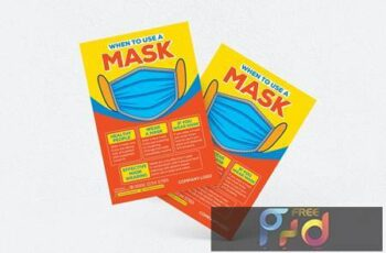 When To Use A Mask Flyer YHDNKKS 5
