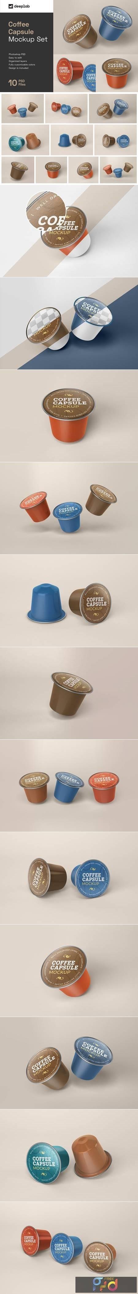 Coffee Capsule Mockup Packaging 5135762 1