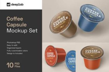 Coffee Capsule Mockup Packaging 5135762 6
