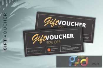 Gift Voucher Card Promotion C9PYW4N 6