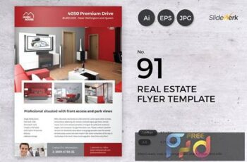 Real Estate Flyer Template 91 - Slidewerk DXJ7KQ3 4