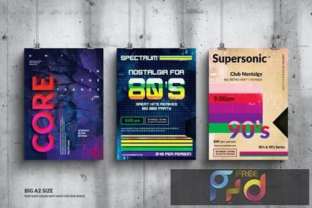 Music Event Big Poster Design Set DNZSW22 1