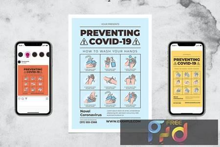 Preventing Covid19 - Wash Your Hand LJ3CDD7 1
