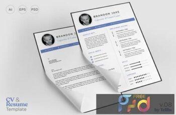 Resume CV Template v08 L29JWU6