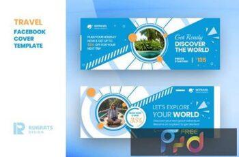 Travel R1 Facebook Cover Template TWM2VB7