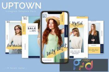 Uptown - Instagram Template Pack 7VVQH6D