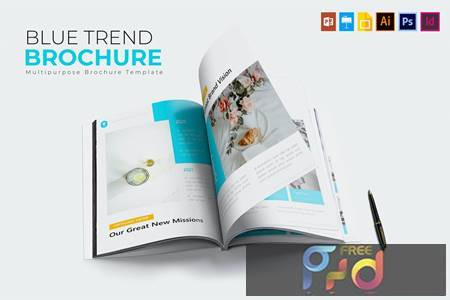 Blue Trend - Brochure Template DC7R8C8 1