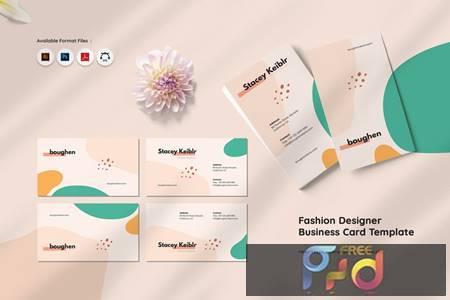 Fashion Designer Business Card 2PHHJ55 1