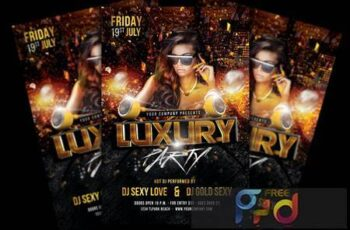 Luxury Party Flyer VN9DX76 5