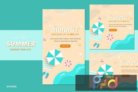 Summer Sale Banners PP8GDCY 1