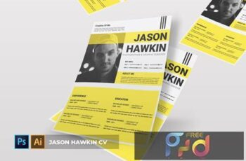 Jason Hawkin - CV & Resume PR953AV 6