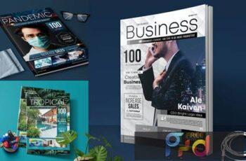 Magazine Cover CAUEQZN 4