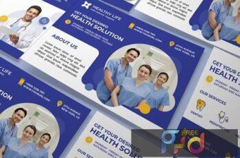 Medical healthy a5 flyer 7GSHC8M