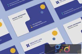 Medical healthy business card 6X7W9FL 13