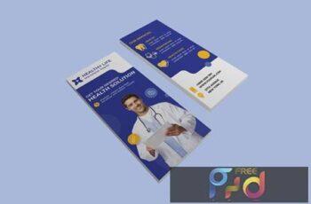 Medical healthy dl rackcard G7WXXC7 5