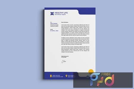 Medical healthy letterhead RKTD972 1