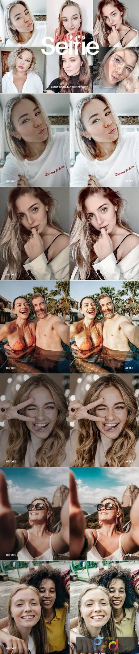 Lightroom Preset - Selfie Beauty Theme 4976167 1