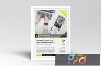 Simple Business Flyers Template F75BT26 6