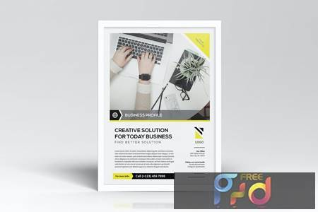 Simple Business Flyers Template F75BT26 1