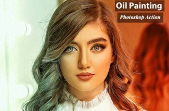 Oil Painting Photoshop Action 4825796 6