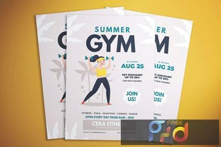 Summer Gym Flyer 2UQPA3M 1