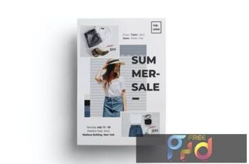 Summer Sales Fashion Flyer 3MCW928 10