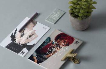 Branding Psd Magazine Mockup 1354 5
