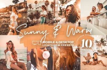 10 Sunny & Warm Mobile Presets 5142982 4