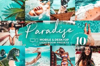 10 Paradise Lightroom Mobile Presets 5143083 6