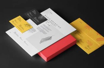 Psd Stationery Branding Mockup Vol 35 1355 10