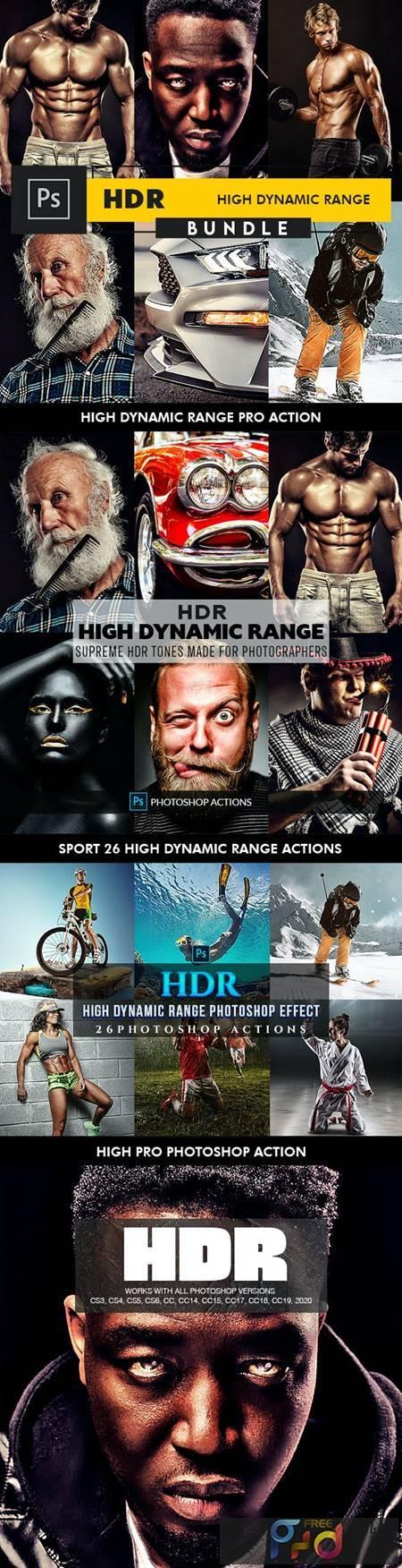 HDR Bundle - Photoshop Actions 27196533 1